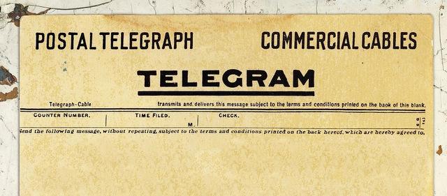 Come fare un telegramma for Cosa cercare nell ispezione finale della casa