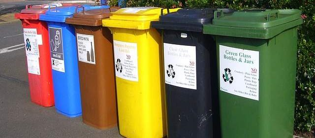 Bidoni di riciclaggio