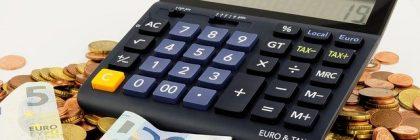 Calcolatrice monete banconote euro